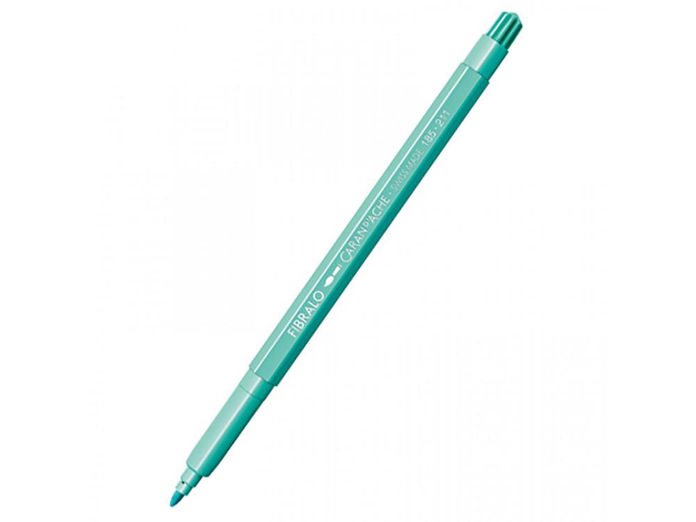 Fibralo Medium water-soluble pen - Caran d'Ache - 211, Jade Green