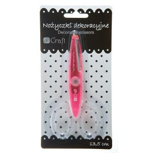 Nożyczki ozdobne 13,5 cm dPCraft 006