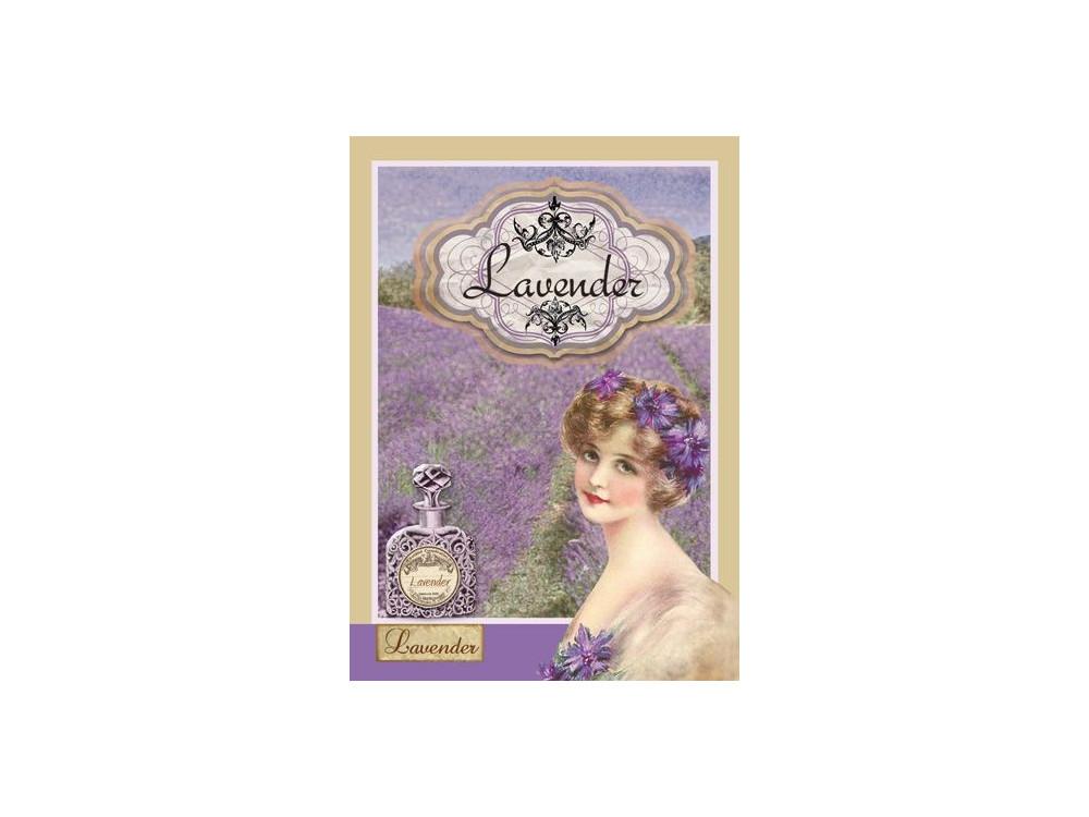 Papier ryżowy A4 - Stamperia - Lawenda IV