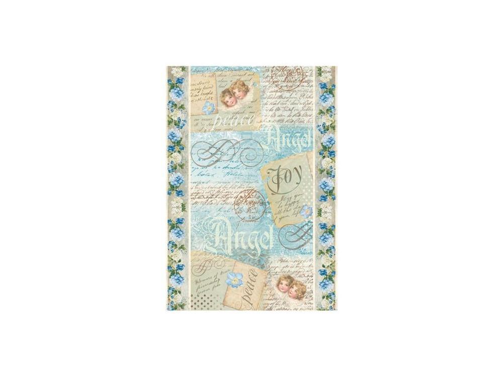 Rice paper A4 Stamperia DFSA4009