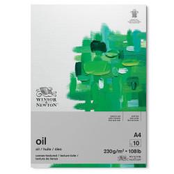 Oil paper pad - Winsor & Newton - canvas, A4, 230g, 10 sheets