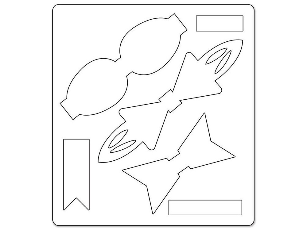 Wykrojnik Bigz - Sizzix – Bows