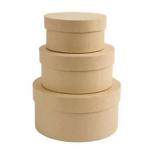 Nesting Boxes - Papermania - Circle, 3 pcs