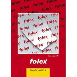 Papier transferowy, naprasowanka na jasne tkaniny - Folex - A4, 5 szt.
