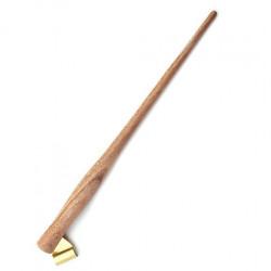 Oblique pen holder - Ziller's - Red Wood