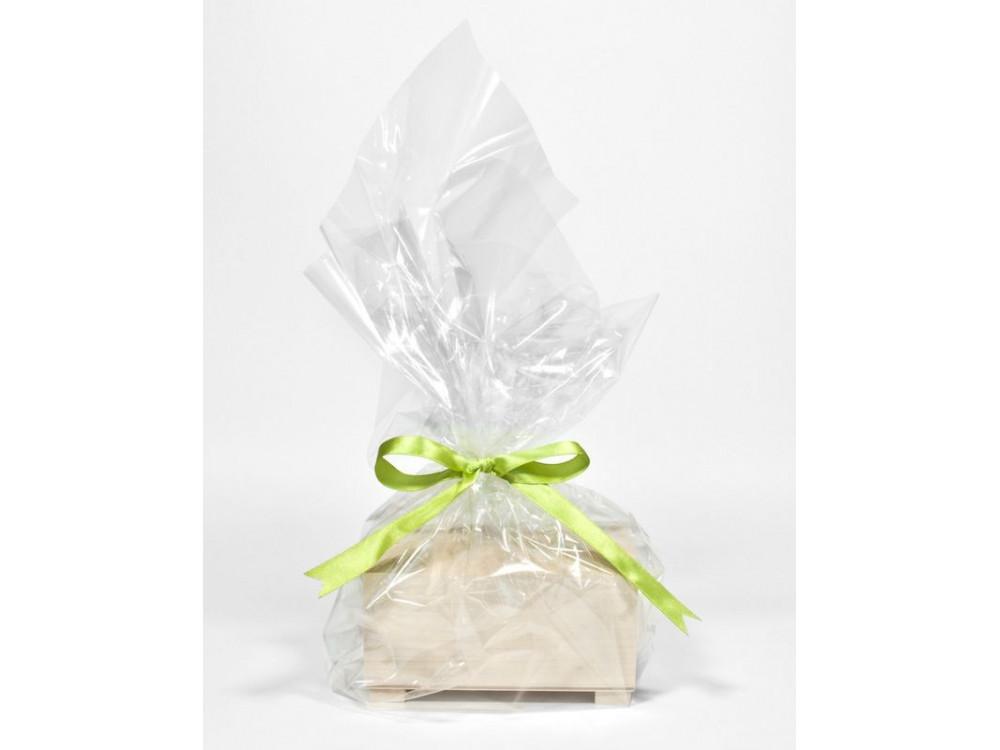 Celofan, folia do pakowania - 50 x 70 cm, 50 ark.