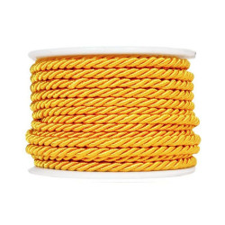 Twisted twine on a spool 10 m 3 mm orange 76