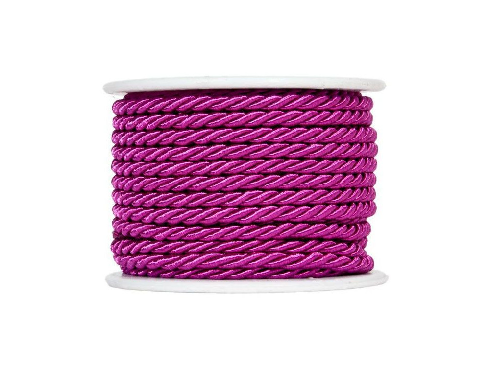 Twisted twine on a spool 10 m 3 mm VIOLET 84
