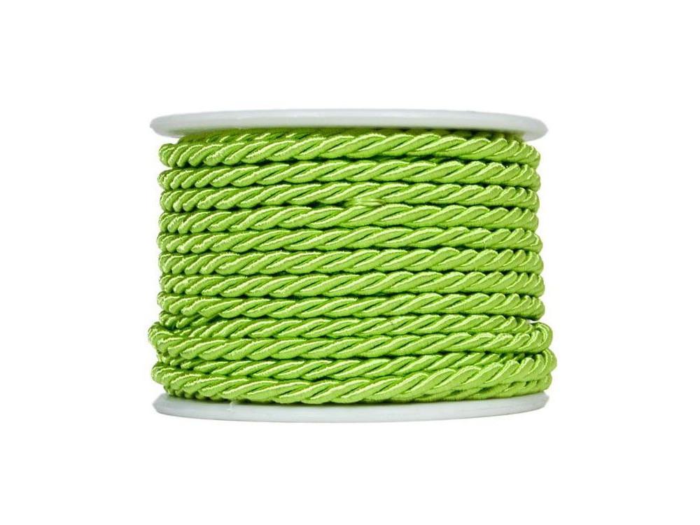 Sznurek pleciony na rolce 10 m 3 mm, zielony 85