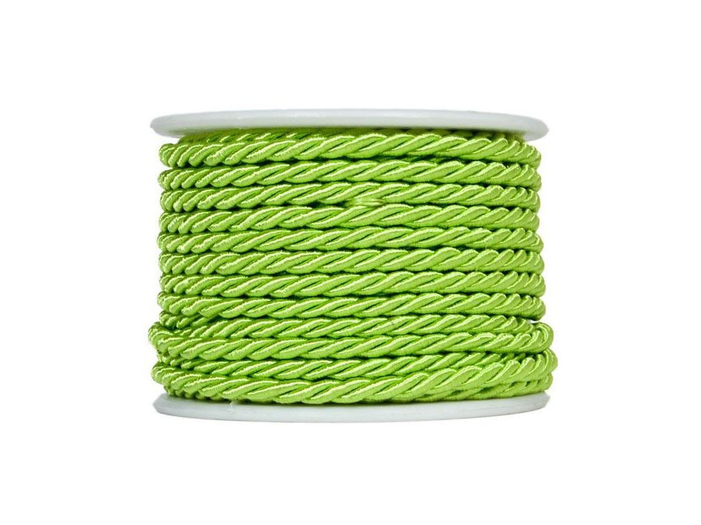 Twisted twine on a spool 10 m 3 mm green 85