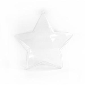 Gwiazdy akrylowe 10,5 cm 6 sztuk