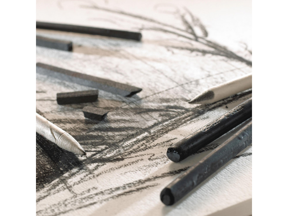 Drawing set of charcoals and pencils - Conté à Paris - 6 pcs