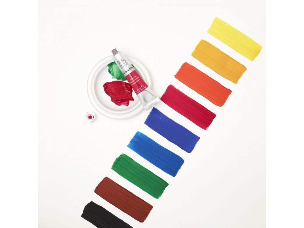 Set of gouache paints - Winsor & Newton - 12 colors x 12 ml