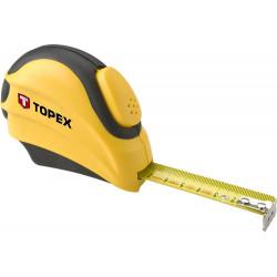 Miara zwijana, stalowa - Topex - 5 m x 19 mm