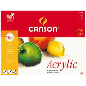 Blok do akryli CANSON Acrylic 24 x 32 cm 400 g