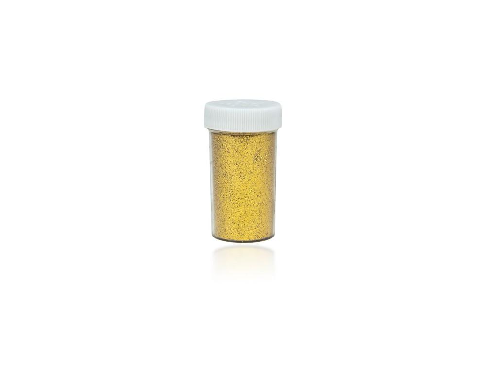Brokat dekoracyjny, sypki - złoty, 20 g