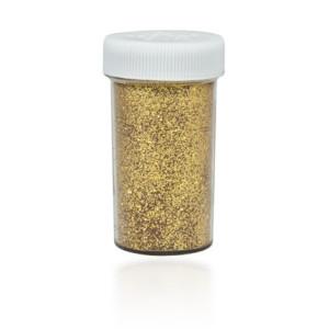 Brokat sypki solniczka 20 g ciemny złoty KB204