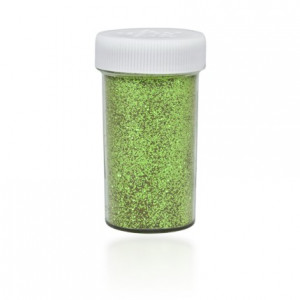 Brokat sypki solniczka 20 g zielony jasny KB601