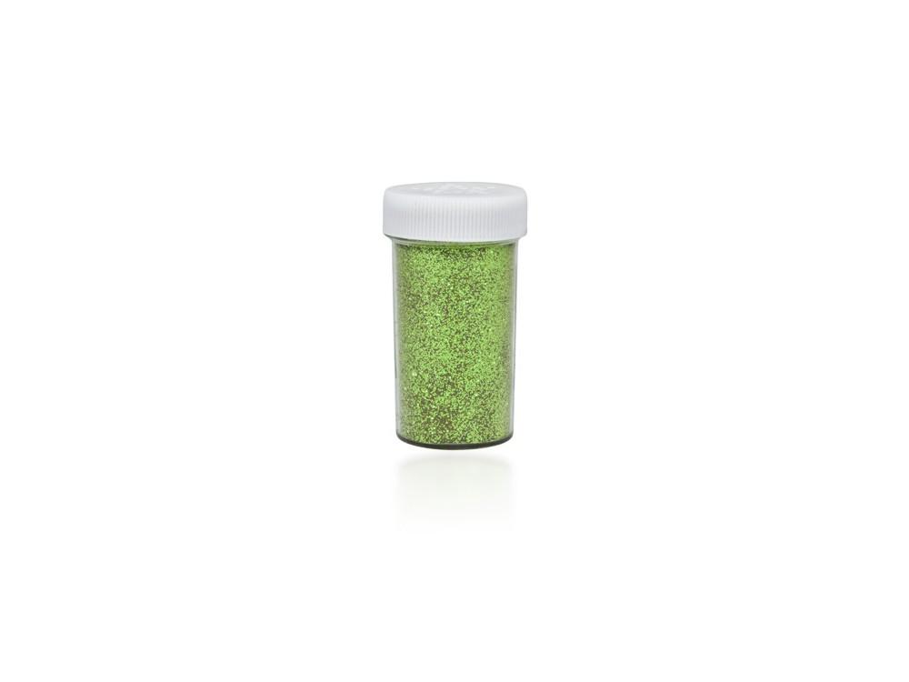 Brokat dekoracyjny, sypki - jasnozielony, 20 g