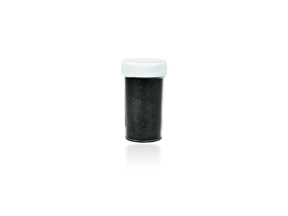 Brokat dekoracyjny, sypki - czarny, 20 g