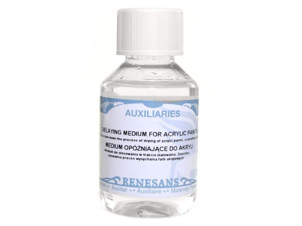 Medium opóźniające do akryli - Renesans - 100 ml