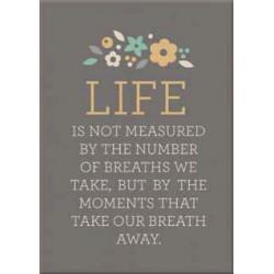 We R Memory Keepers - Art Board - Life is Not Measured