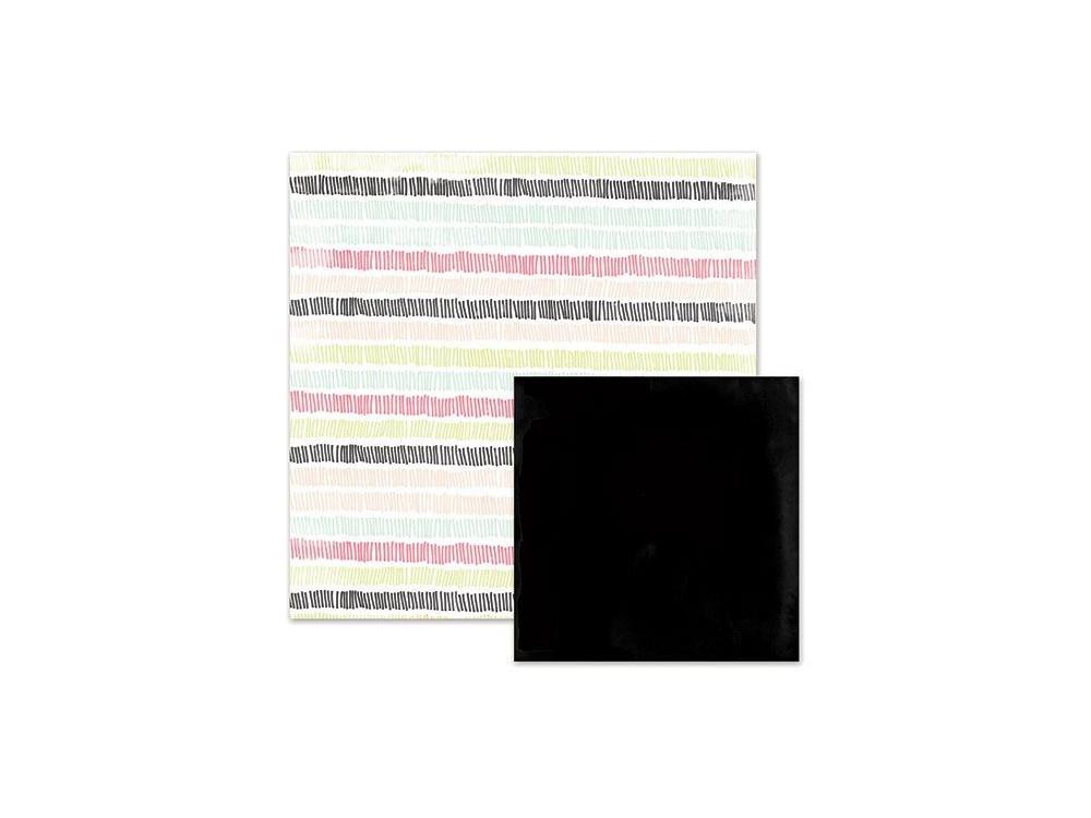 Papier 30 x 30 cm Love Notes - Heartbeat