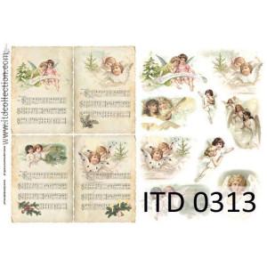 Papier decoupage A4 0313