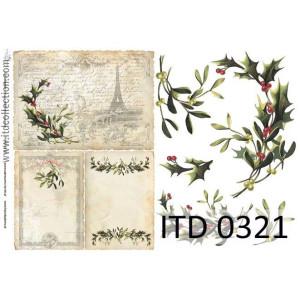 Papier decoupage A4 0321