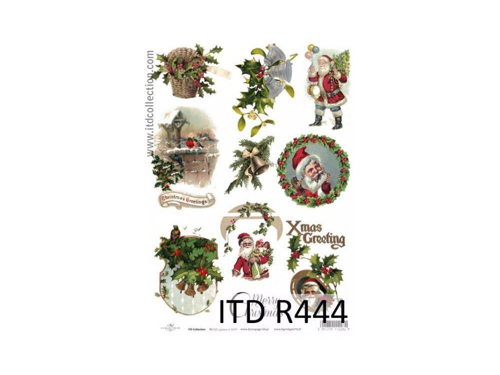Papier do decoupage A4 - ITD - ryżowy, R444