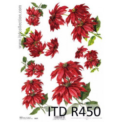 Papier do decoupage A4 - ITD - ryżowy, R450