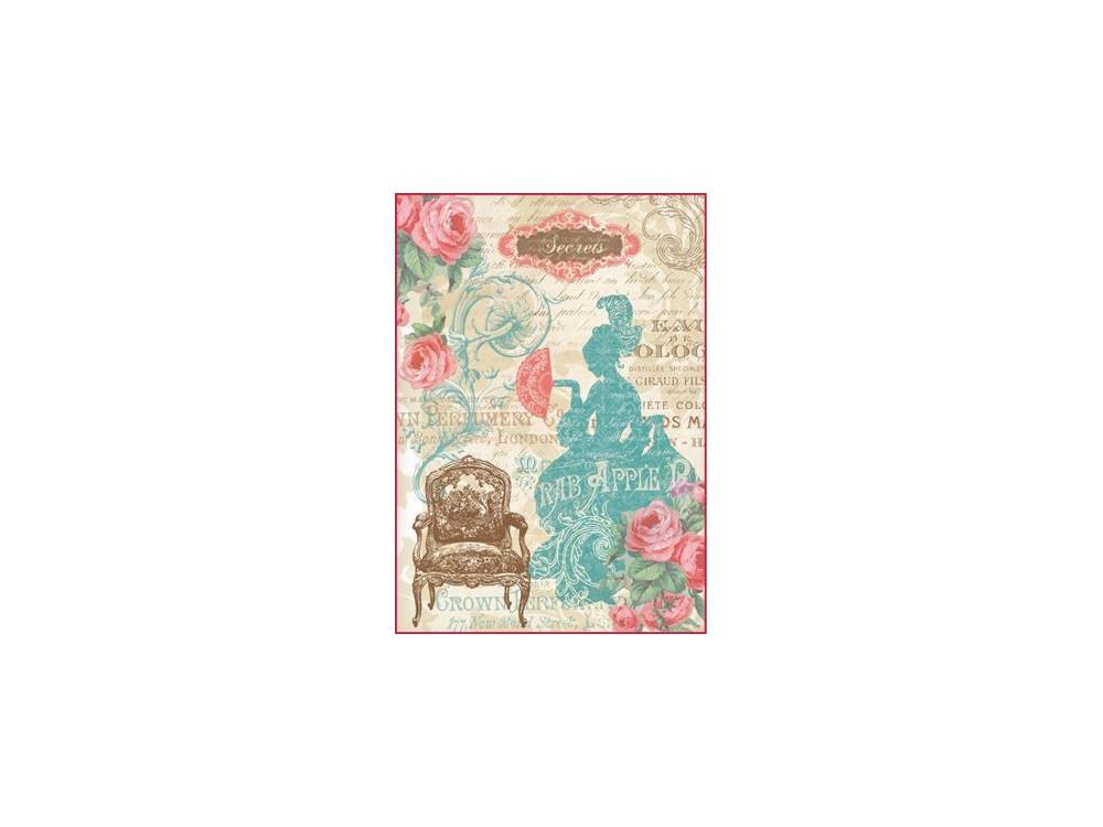 Rice paper A4 Stamperia DFSA4046