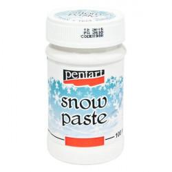 Pasta strukturalna imitująca śnieg - Pentart - 100 ml