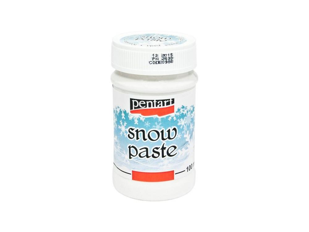 Snow paste - Pentart - 100 ml