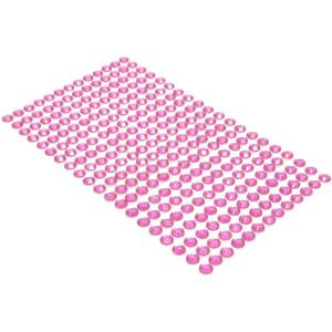 Kryształki samoprzylepne 6 mm 260 szt. różowe