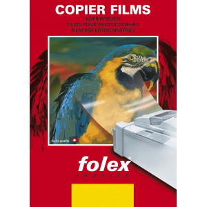 Folia samoprz. przeź. laser monochromat. 10 A4 Folex ADHESIVE-F KLAR