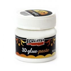 Klej ozdobny pasta 3D - Pentart - 50 ml