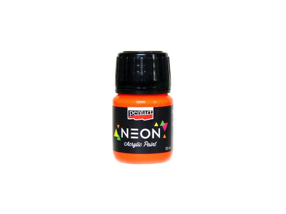 Neon Color Acrylic Paint 30 ml orange