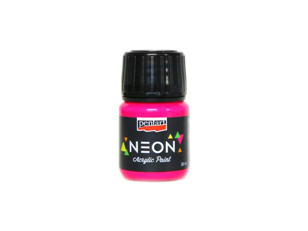 Neon Color Acrylic Paint 30 ml pink