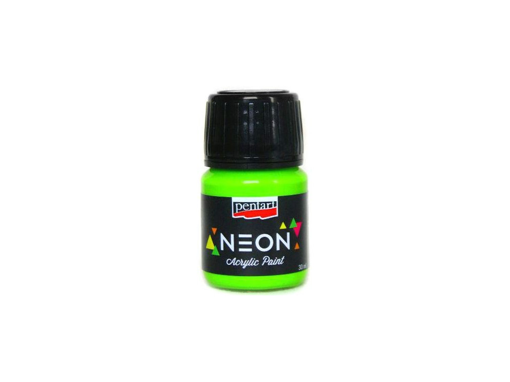 Neon Color Acrylic Paint 30 ml green