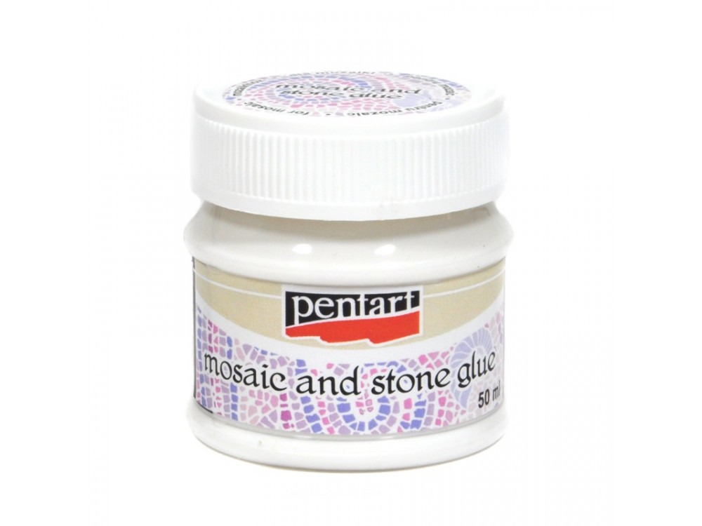 Mosaic and stone glue - Pentart - 50 ml