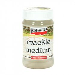 Lakier do spękań Crackle Medium - Pentart - jednoskładnikowy, 100 ml