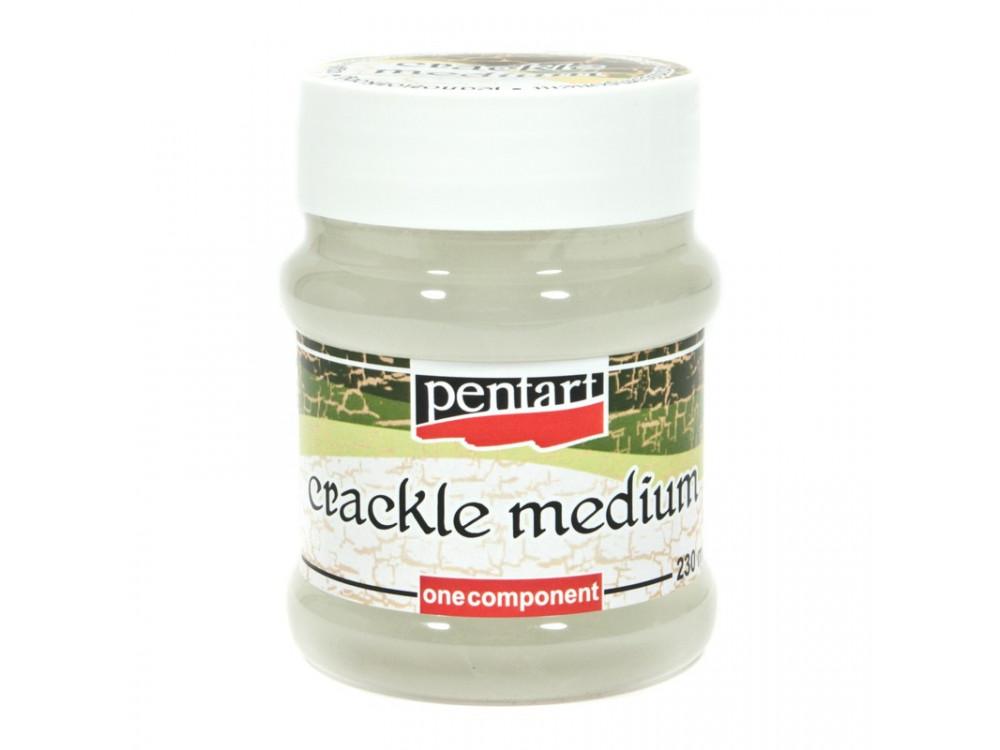 Crackle Medium - Pentart - one component, 230 ml