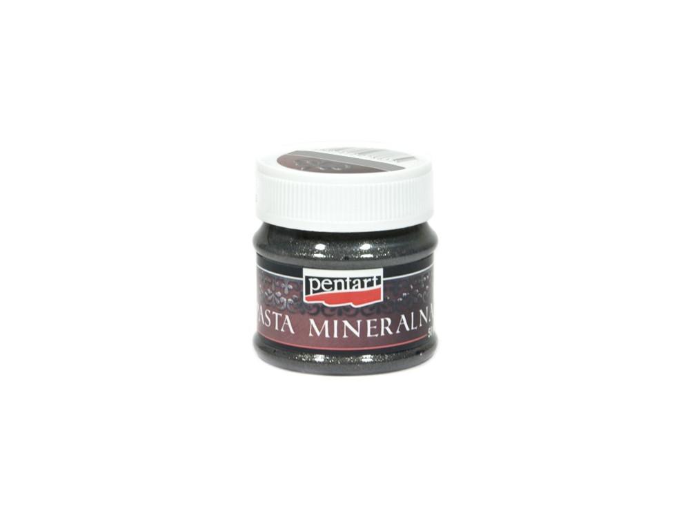 Pasta żeliwna mineralna - Pentart - brokatowa, 50 ml