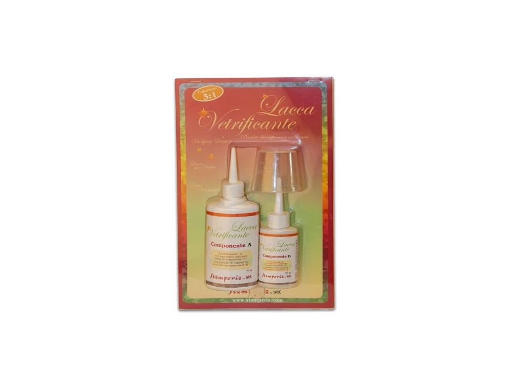 Lakier szklący, krystalizujący - Stamperia - Lacca Veryficante