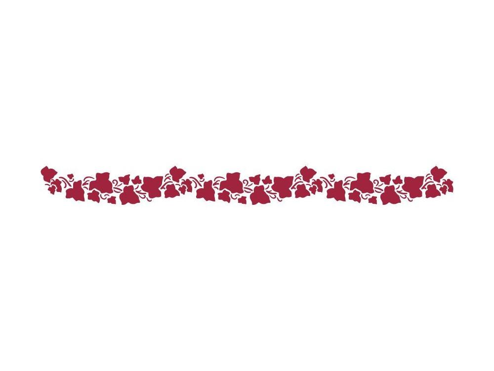 Szablon 60 x 7 cm - Stamperia - Bluszcz