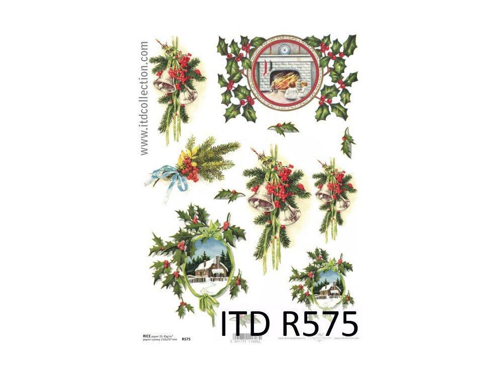 Papier do decoupage A4 - ITD - ryżowy, R575