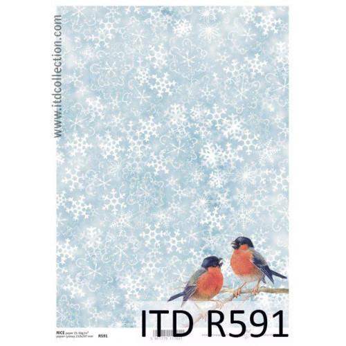 Papier ryżowy decoupage ITD R591