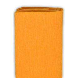 Bibuła marszczona, krepina - jasnopomarańczowa, 50 x 200 cm
