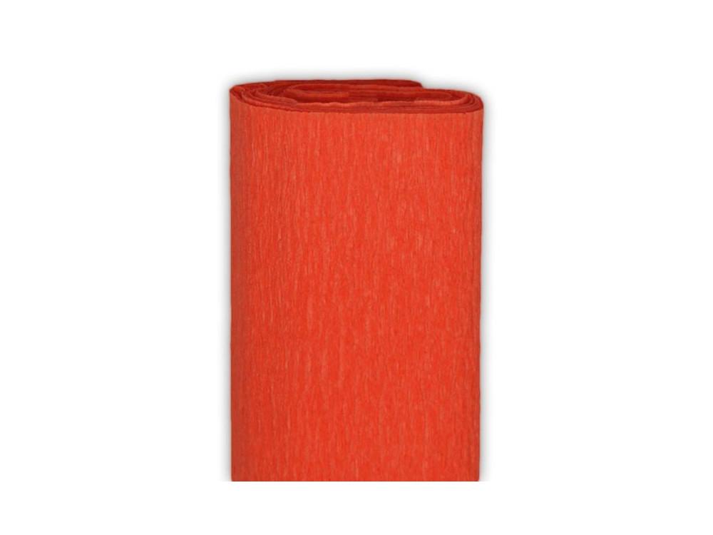 Bibuła marszczona, krepina - czerwona, 50 x 200 cm